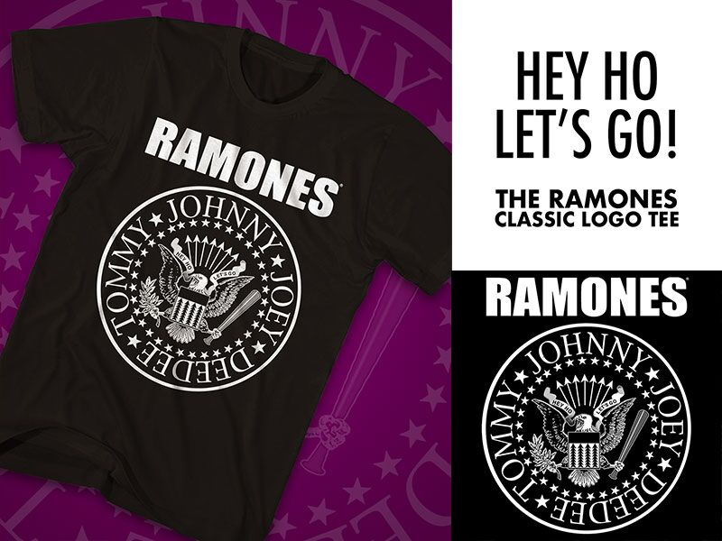 13555fee The Ramones seal continues on as a piece of living history, transcending  music culture and becoming iconic around the world.